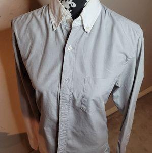 5 for $25💎JCrew Men's Gray Slim Fit Dress Shirt